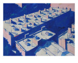 Roofscape Number Seventeen Giclee Print by Jim Maio