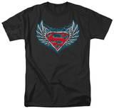 Superman - Steel Wings Logo Shirts