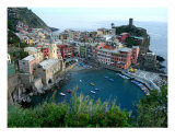 Vernazza, Italy Photographic Print by Crystal Petrocelli