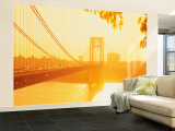 Bridge Across the River, George Washington Bridge, New York, USA Wall Mural – Large