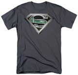 Superman - Circuitry Logo Camiseta