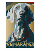 Weimaraner 1943 Photographic Print by Lori Spradley