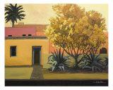 Hacienda Palo Verde Giclee Print by Rick Kersten