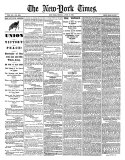 New York Times, April 10, 1865: Union Victory and Peace, Surrender of General Lee Giclee-trykk
