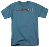 Superman - Skateboard Supes T-shirts