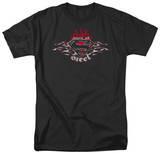 Superman - Steel Flames Logo Shirts