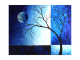 Blue Depth Posters by Megan Aroon Duncanson