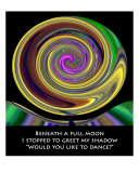 Moonshadow Photographic Print by B.y. Penman