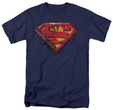Superman - Rusted Shield T-shirts