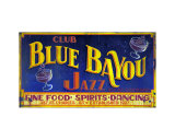 New Orleans Club Blue Bayou Photographic Print by Kate Watkins