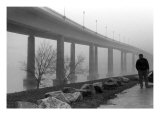 Annapolis Severn River Bridge Photographic Print by Amy V. Ruschell