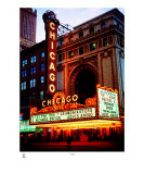 Chicago Theater Photographic Print by Tom Jelen
