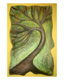 Dancing Tree Giclée-Druck von Wendy Van Fleet
