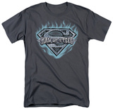 Superman - Man of Steel Shield T-shirts