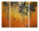 Dance &amp; Butterfly Giclee Print by James Saenz