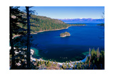 Emerald Bay At Winter, Lake Tahoe, California Photographic Print by George Oze