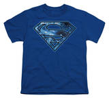Youth: Superman - On Ice Shield T-shirts
