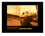 Management-Inspirational: Integrity Photographic Print by Andrew Schwartz
