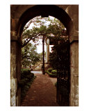 Randolph Hall Gate View Photographic Print by Benjamin Padgett