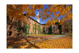 Nassau Hall At Fall, Princeton University Photographic Print by George Oze
