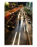 Traffic Bangkok Thailand Photographic Print by Peppe Arninge