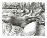 Maria In The Sheets Giclee Print by Randy Sprout
