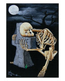 Crying Bones Giclee Print by Mareen Haschke