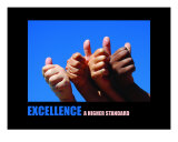 Motivational-Management: Excellence Photographic Print by Andrew Schwartz