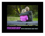 Inspirational-Motivational: Friendship Photographic Print by Andrew Schwartz