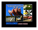 Inspirational-Motivational: Excellence Collage Photographic Print by Andrew Schwartz