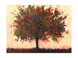 Abstract Apple Tree Giclee Print by Patty Baker