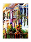 Garden District Sunset Giclee PrintDiane Millsap