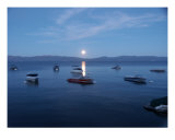 Moonlight On Lake Tahoe Photographic Print by Brendan Mcweeney