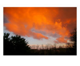 Fire In The Sky Photographic Print by Todd Hepburn