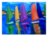 Reflections Of Tortola Giclee Print by Patti Schermerhorn