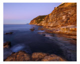 A Warm Light At Bau Rouge Beach Photographic Print by Patrick Morand