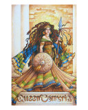 Queen Tomyris Giclee Print by Teri Rosario