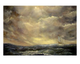 Homeward Bound After The Storm Giclée-Druck von Monica Vanzant