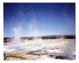Hot Pots of Yellowstone Photographic Print by Cheryl Crowe