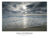 Mission Beach Smooth Surf Photographic Print by Eric Protzman