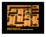 Management-Motivational: Obstacles Photographic Print by Andrew Schwartz