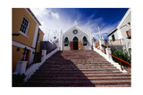 Steps Of St Peters Church, Bermuda Impressão fotográfica por George Oze