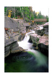 Diana's Bath, White Mountains, New Hampshire Photographic Print by George Oze
