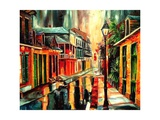 French Quarter Magic Giclee Print by Diane Millsap