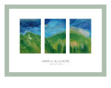 Waves Of Grass Giclee Print by Andrea Allegrone