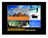 Motivational-Management: Achievement Collage Photographic Print by Andrew Schwartz