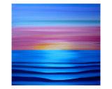 Magenta Horizon Giclee Print by Jerry Clovis