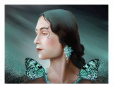 Turquoise Earrings Photographic Print by Susi Galloway