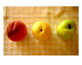Stop Wait Go Fruit Still-Life Photographic Print by Henry Russell