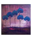 6 Skinny Trees Giclee Print by Kristen Stein